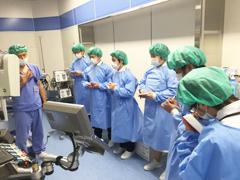 医療技術学科「医療保健学セミナー」で病院見学を行いました(2017年度)