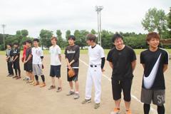 茨城県診療放射線技師会ソフトボール大会に参加しました(平成29年度)