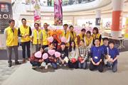 『がん検診+放射線展+ピンクリボン運動』に診療放射線学科の学生が参加しました