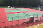 つくば国際大学キャンパス テニスコート