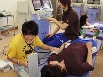 つくば国際大学 物理療法学実習