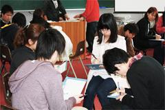 4月4日[学生の活動] 新入生歓迎会を行いました。