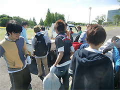 5月17・18日[学生の活動]リレー・フォー・ライフ・ジャパン2104茨城にボランティア参加