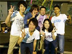 7月26日[学生の活動]いしおか七夕まつりにボランティア参加