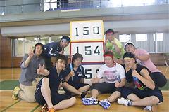 5月31[学生の活動]光風荘・光風荘アネックス(障がい者支援施設)の運動会に、福祉活動サークルの学生8名と顧問がボランティアとして参加しました。
