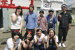 福祉活動サークルの学生と顧問が窓愛園(児童養護施設)の運動会にボランティアとして参加しました。