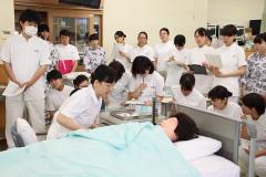 つくば国際大学 看護学科の実習について「基礎看護学実習」