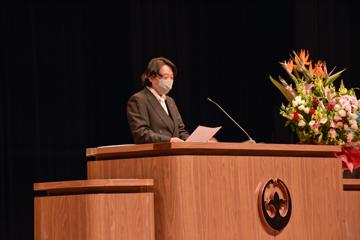 令和3年度つくば国際大学「入学式」を挙行しました
