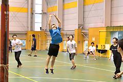 新入生歓迎バレーボール大会が行われました(2017年度)