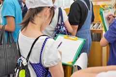 土浦市立真鍋小学校の6年生のみなさんが「校外学習」として見学に来てくださいました