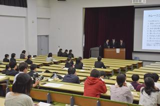 「第2回臨床検査学科卒業研究発表会」を行いました