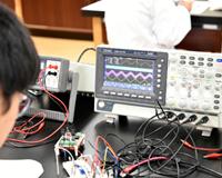 医療技術学科:授業紹介「医用電子工学実習」