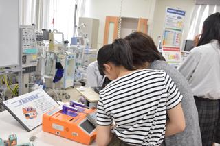 医療技術学科:オープンキャンパス2019「体験授業」紹介(第7回)