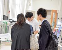 医療技術学科:オープンキャンパス2019「体験授業」紹介(第8回)