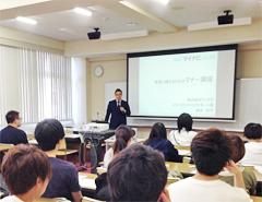 医療技術学科で「実習に備えるためのマナー講座」を開催しました