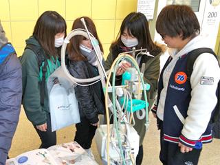 「第6回茨城呼吸療法セミナー」に医療技術学科の学生が参加しました