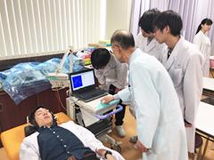 医療技術学科:授業紹介「生理機能検査学実習」(平成30年度)