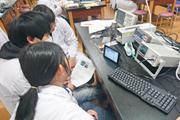 医療技術学科:授業紹介「医用計測工学実習」(平成30年度)