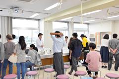 医療技術学科:オープンキャンパス2018体験授業紹介(第1回)