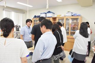 医療技術学科:オープンキャンパス2018体験授業紹介(第5回)