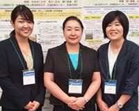 保健栄養学科の柴﨑先生、大木先生、荒木先生が「第66回日本栄養改善学会学術総会」にて発表を行いました