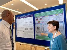 中国で行われたARAHE(アジア地区家政学会)で保健栄養学科の吉田先生が発表を行いました