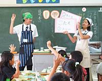 保健栄養学科:授業紹介「臨地実習Ⅰ(給食の運営)、Ⅱ(給食経営管理)、Ⅳ(公衆栄養)」