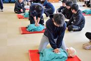 トレーナー活動研究会で救命講習を受講しました(2018年度)