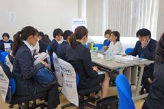 看護学科で就職説明会を開催しました(平成29年6月)