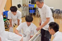 看護学科:実習紹介「リハビリテーション看護学」