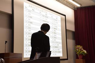 浦山修先生(診療放射線学科・教授)の最終講義を行いました